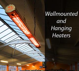 Wall Mounted/Hanging Heater Promo