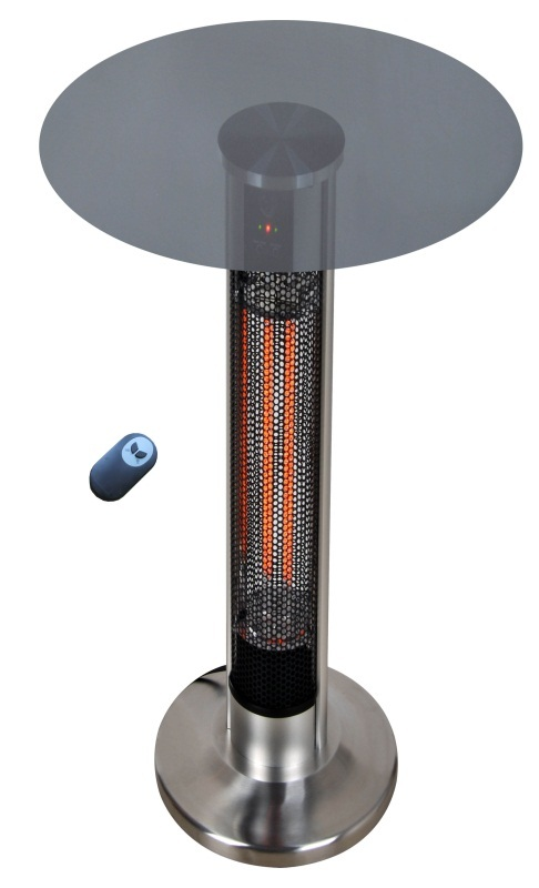 Cronus III @ 1.6kw  - 110cm (h) x 60cm (d) - Infrared Table Heater