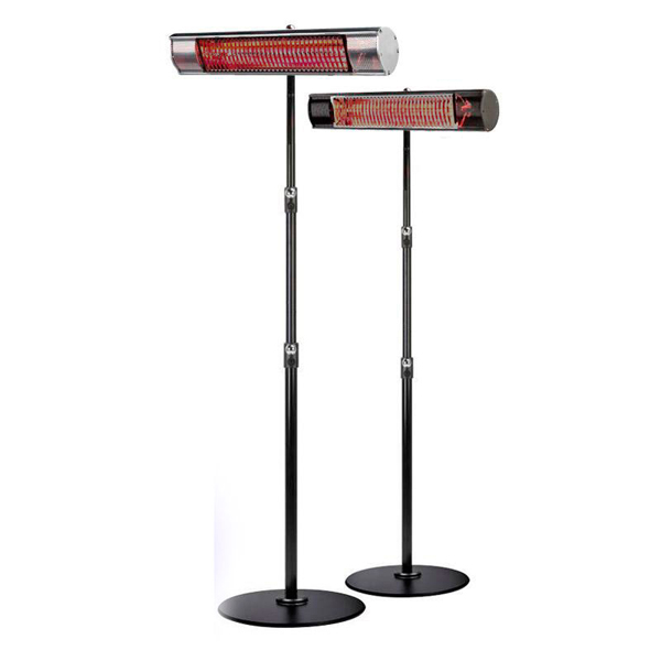 Workshop and Factory use - Shadow Ultra-low-glare 2.0kW Heater - with adjustable RB Stand