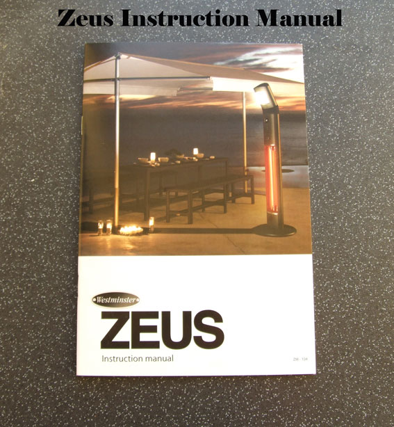 ZEUS - REPLACEMENT INSTRUCTION MANUAL